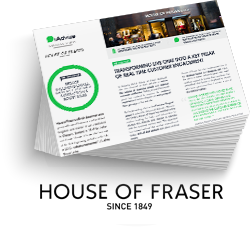 House of Fraser Success Story