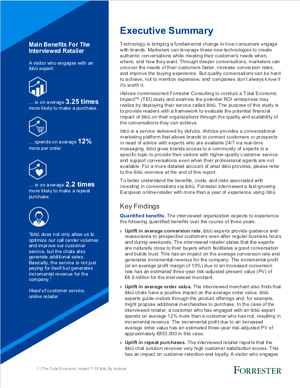 TEI - Forrester - Executive Summary