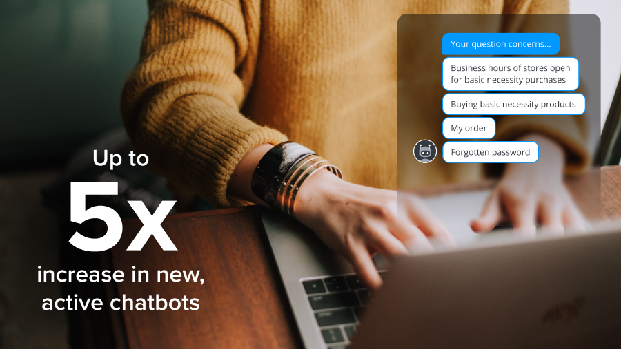 Chatbots automation conversations efficient solutions maintaining customer service crisis