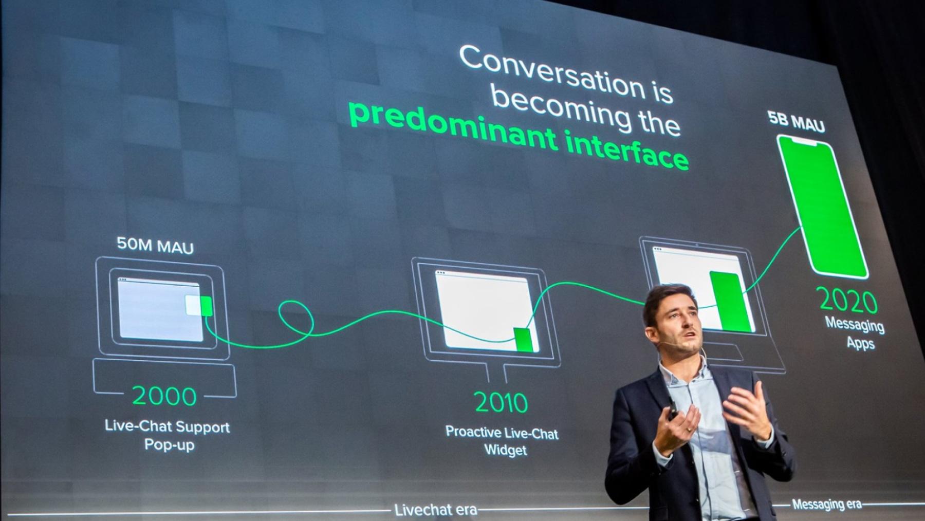 IAdvize CEO Conversation 2020 Conversational platform messaging
